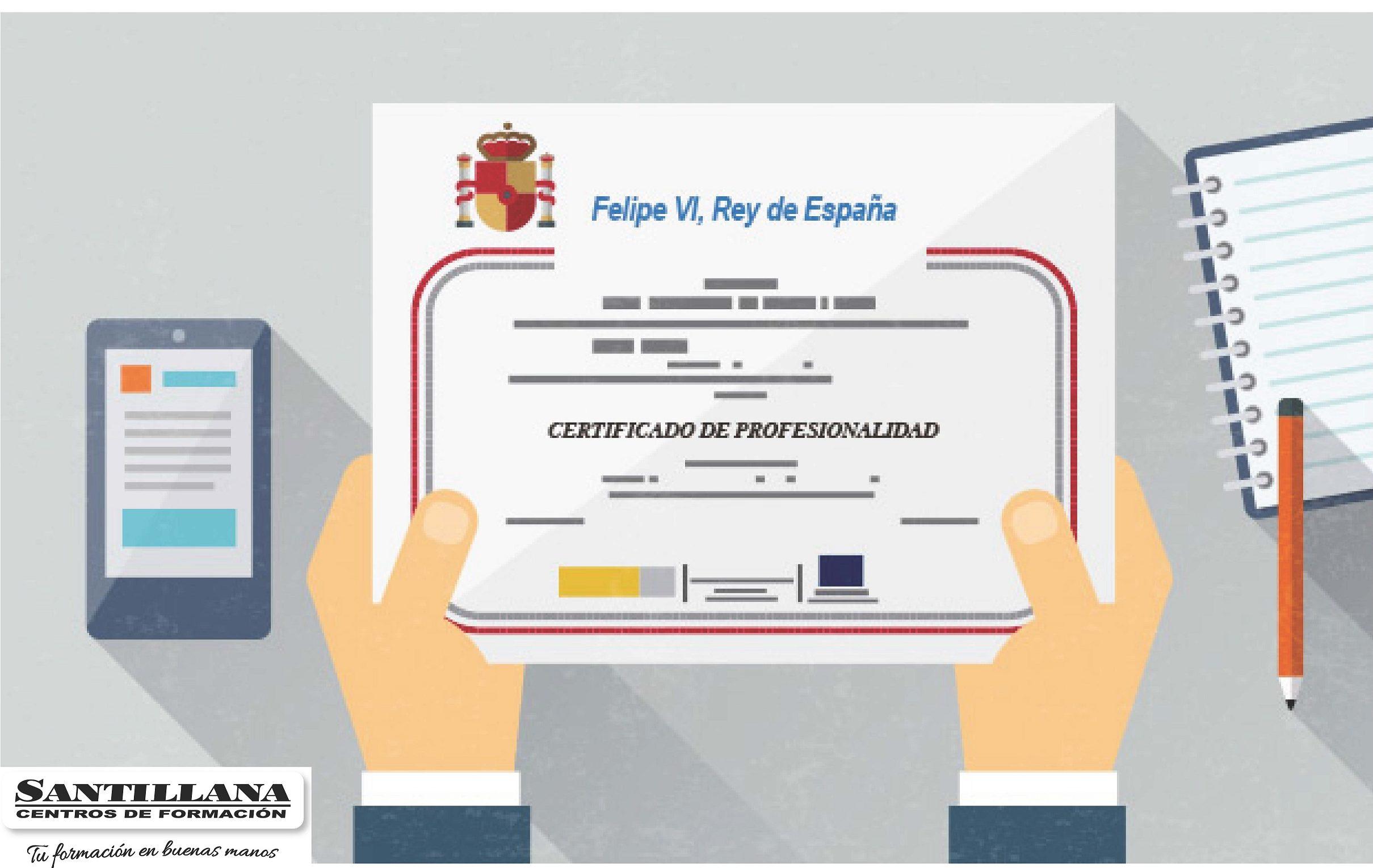 Certificado de Profesionalidad Santillana Formacion