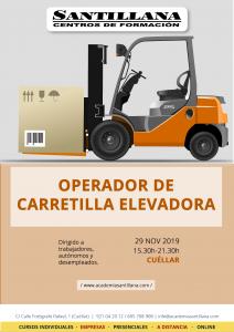 Operador de Carretilla Elevadora @ Santillana Centros de Formación Cuéllar
