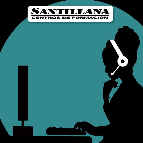 Curso online de Atención telefonica Santillana Formación