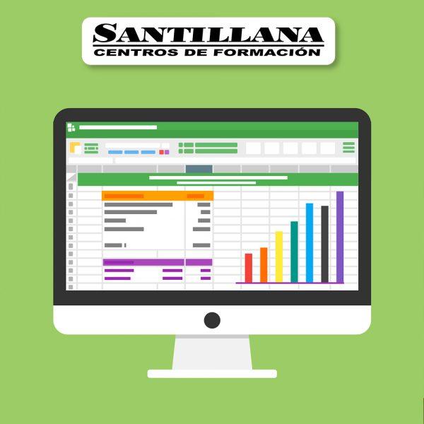 curso online excel aplicado gestion comercial santillana formacion
