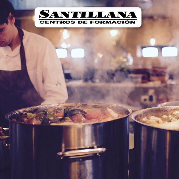 curso jefe cocina santillana formacion