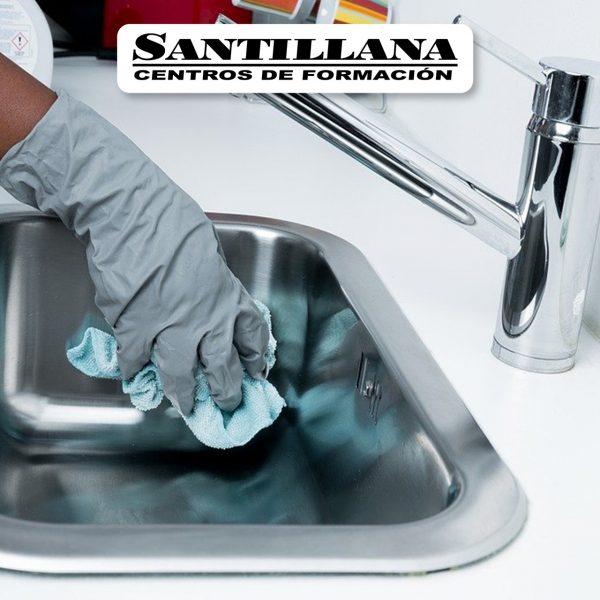 Curso Online de Limpieza interior inmueble Santillana Formación