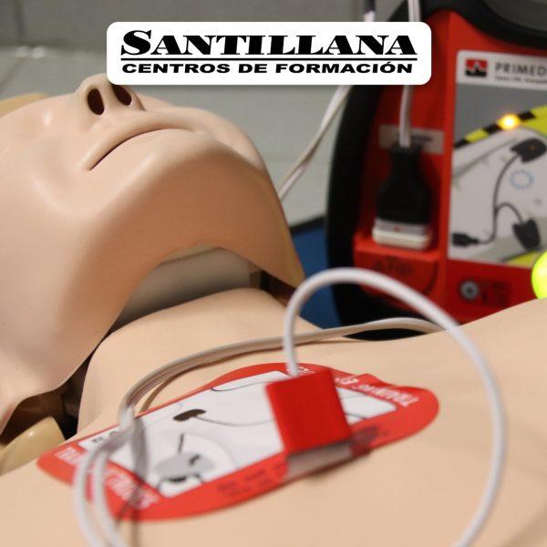 curso onlie prl primeros auxilios santillana formación