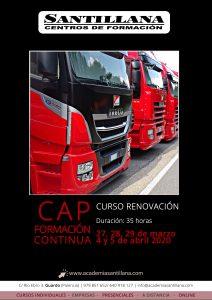 /APLAZADO/ CAP Formación Continua - Renovación @ Santillana Centros de Formación Guardo